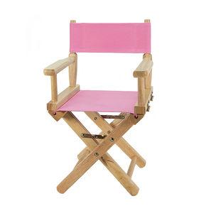 """Fauteuil enfant"""" Metteur en scène """" rose"""