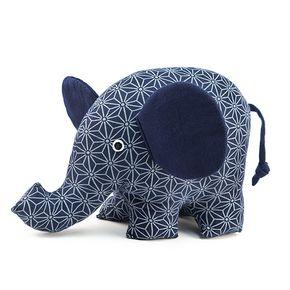 """Peluche décorative """"Jumbo l'éléphant"""""""